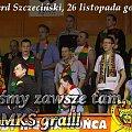 Plakat zapowiadający wyjazd kibiców drużyny MKS Znicz Basket Pruszków na spotkanie I ligi koszykówki mężczyzn ze Spójnią Stargard Szczeciński #ZniczBasket #Pruszków #koszykówka #ILiga #PZKosz #Spójnia #StargardSzczeciński #kosz #basket