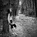 Ola c.d. #ola #kobieta #dziewzyna #portret #sesja #strobing #las #nikon #passiv #airking
