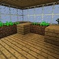 Mini-ogród #craftsite #dom #domeczek #domek #drewniany #drewno #góry #klimacie #klimat #minecraft #wielki #zima #zimowym