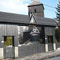 Kuźnia Ligocka #Śląsk #KuźniaLigocka #kościoły #drewniane