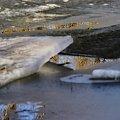odbicie #kra #lód #odbicie #woda #przedwiośnie