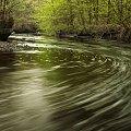 Autostrada #rzeka #zakręt #woda #zieleń #las #wiosna #przyroda #krajobraz