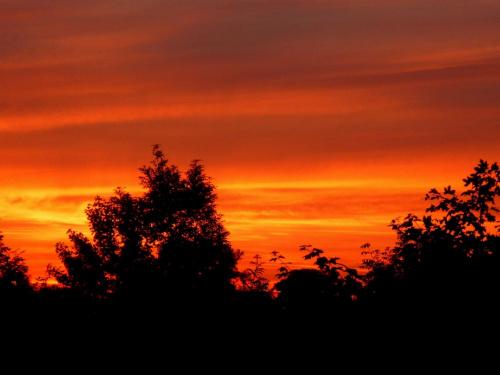 zachody #chmury #niebo #słonce #spektakl