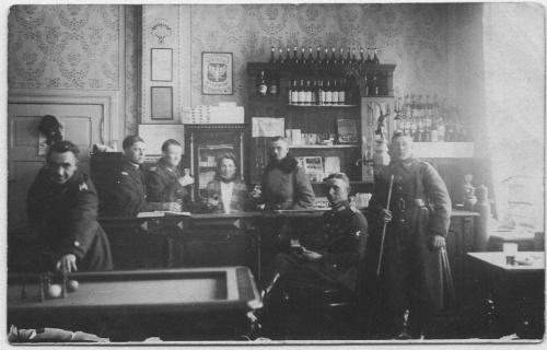 Kasyno podoficerskie przy Grunwaldzkiej - Zofia i Władysław Wienke
