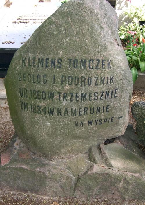 Klemens Tomczak podóżnik z Trzemeszna