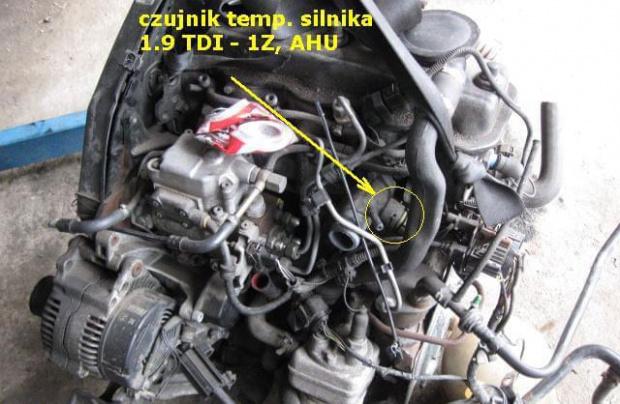Czujnik Temperatury Cieczy Chłodzącej Silniki Diesla Audi A4