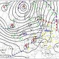 Mapa synoptyczna 15.12.2011 #CiepłaZima #MapaSynoptyczna #odwilż #pogoda