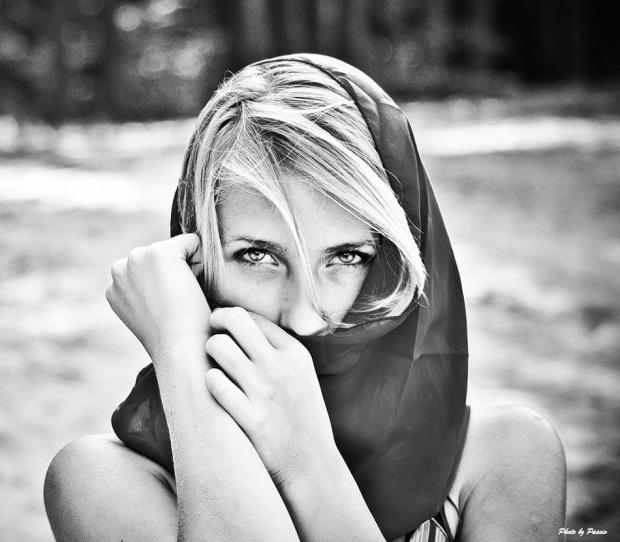 Agata #kobieta #dziewczyna #portret #plaża #staw #nikon #passiv #airking