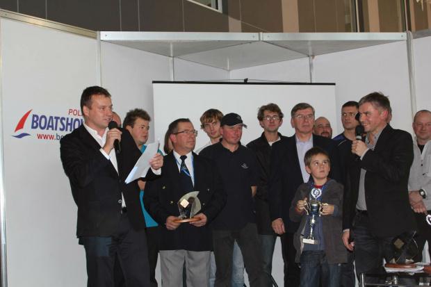 Wręczenie nagród Pucharu Polski w klasie OMEGA Sport