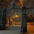 brama poludniowa Lister Parku, Zima. 6.00 am #Anglia #BramaListerPark