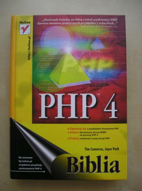 PHP 4. Biblia [.PDF][PL]