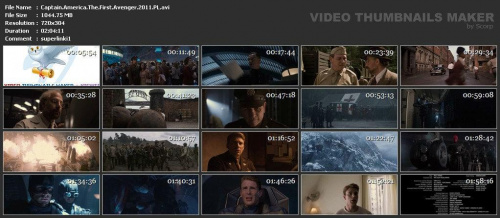Captain America: Pierwsze starcie / Captain America: The First Avenger (2011) PL.480p.BRRip.XviD.AC3+RMVB+x264-T4jFuN / Lektor PL