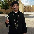 Koptyjski duchowny Fr. Mina Aboud Sharobim, zabity za wiarę przez muzułman w VII `13 #islam #Koptowie #prześladowania