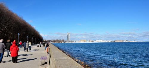wiosenne morze #Gdynia #morze #bulwar