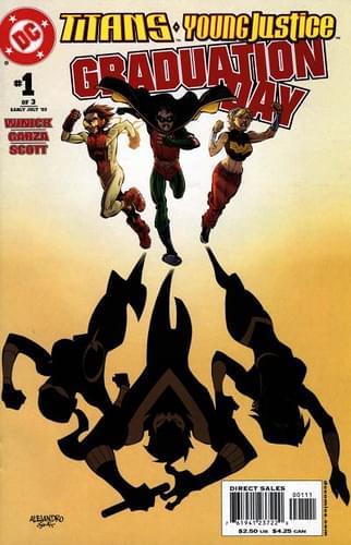 Primer aporte de comics Teen Titans graduation day 65baeafd30cf0210