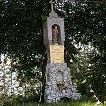 Jędrzejów - przydrożna figurka św. Krzysztofa #Jędrzejów #Kapliczki #Krzyże #Figury