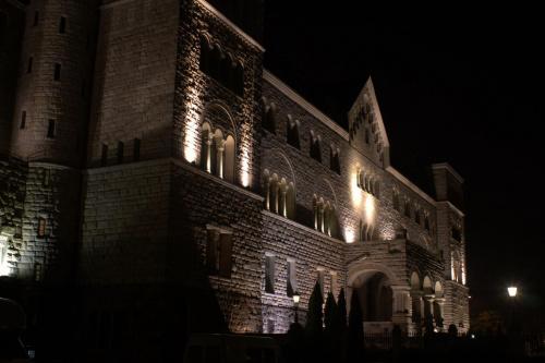 Poznań zamek #Poznań #noc