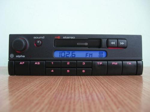 radio alpha a transmiter vw polo 1 4 mpi 6n2. Black Bedroom Furniture Sets. Home Design Ideas