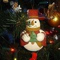 Wesołych Świąt:) #święta #światełka #Noc #bałwanek