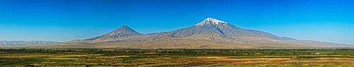 góra Ararat - panorama #GóraArarat #panorama