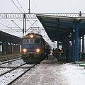 04.02.2009r|Siódemka z pociągiem Ex Klimczok na stacji Iława Główna. #EP07 #siódemka #jagódka #PKP #stacja #IławaGłówna