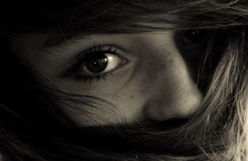 Ola i jej oko xD #oko #Ola
