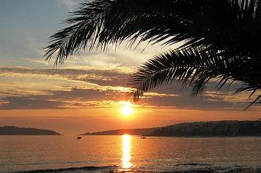 nad morzem ... #słońce