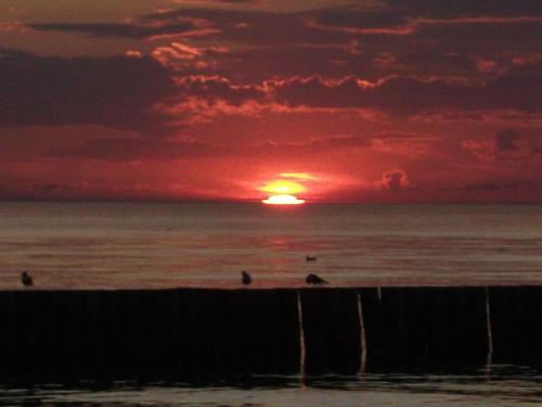 zachód słońca w Kołobrzegu.^^ #ZachódSłońca