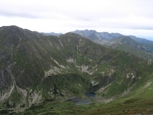 Raczkowe Stawy, Kończysta i Jarząbczy W. #Góry #Tatry #StarorobociańskiWierch