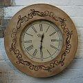 Stylowy zegar retro #StylowyZegar #zegar #ZegarRetro #ZegarŚcienny #ZegarWiszący #zegary
