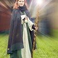 Kolejna bajeczna postać spotkana na średniowiecznym spektaklu Fantazji ... #Czarodziejka #MFSBorken #Naris #Reportaż